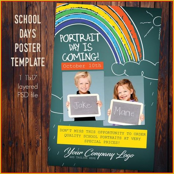 11x17 Poster Template