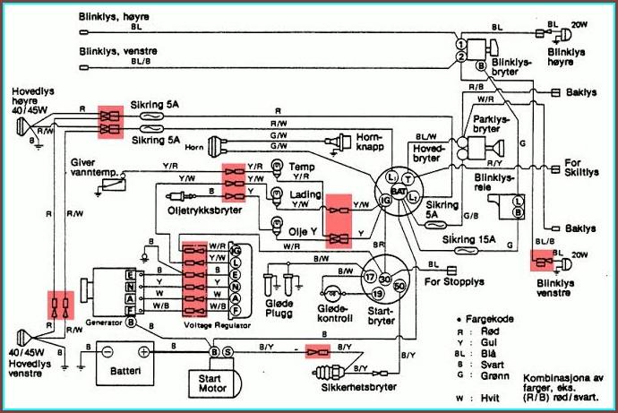Electrical Wiring Diagram Symbols