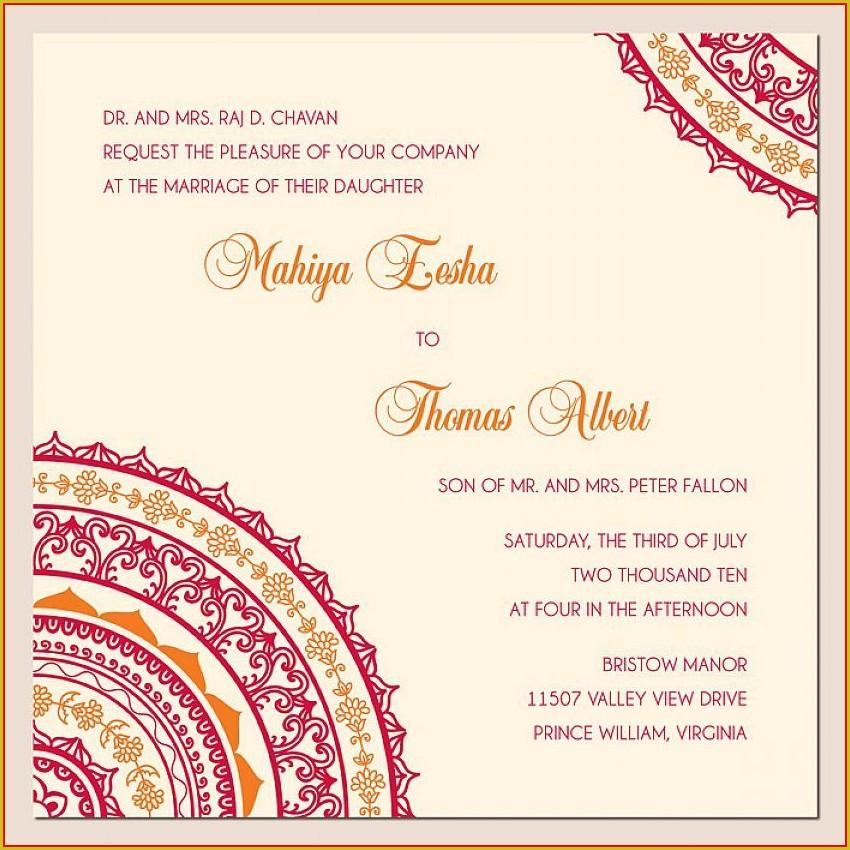 Engagement Invite Templates Indian