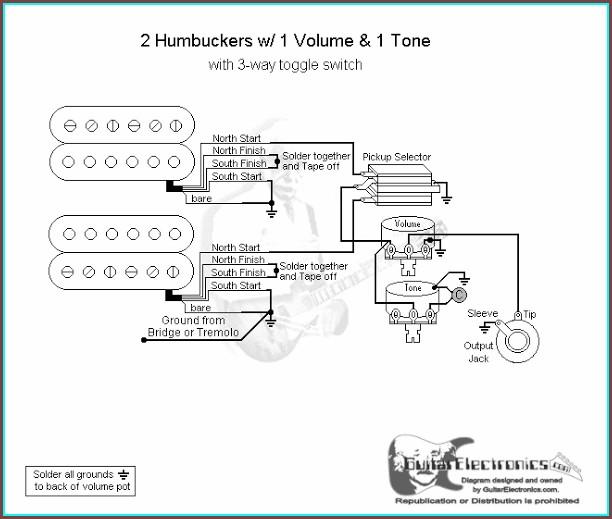 Guitar Wiring Diagram 3 Way Switch