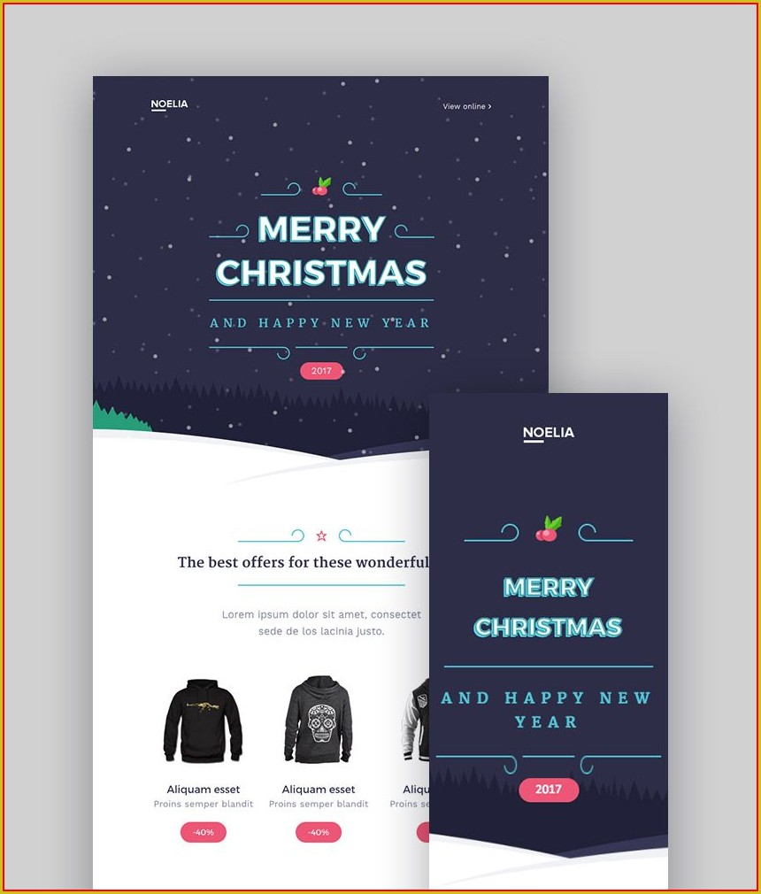 Monthly Newsletter Mailchimp Templates