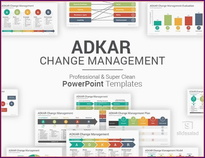 Adkar Change Management Powerpoint Templates