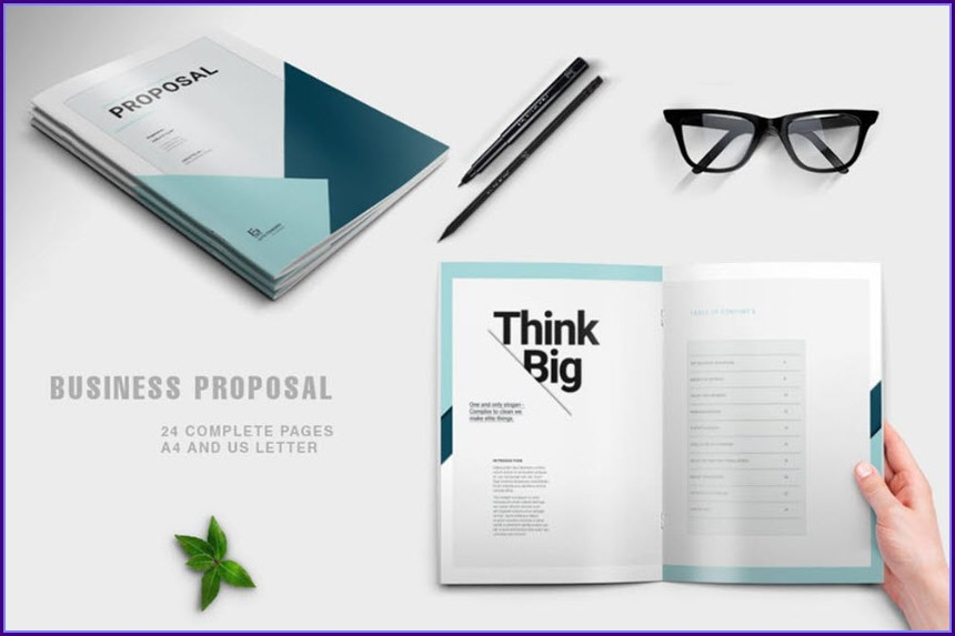 Business Proposal Template Indesign Free