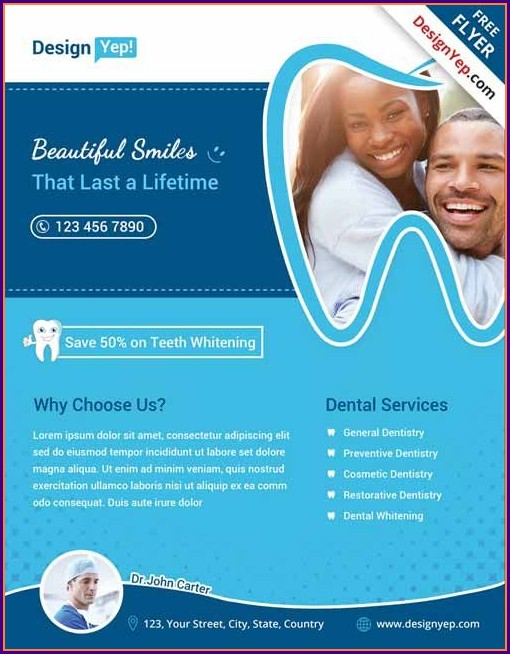 Dental Flyer Templates Free Download