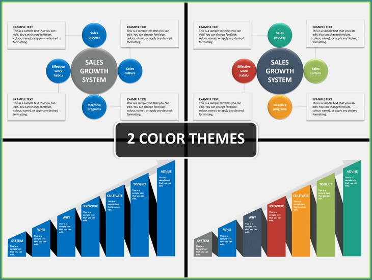 Sales Growth Presentation Templates