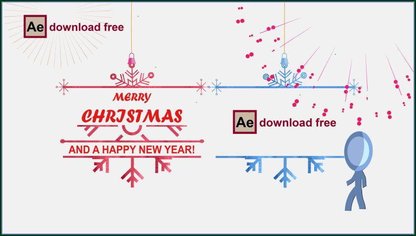 After Effects Christmas Templates Free Download