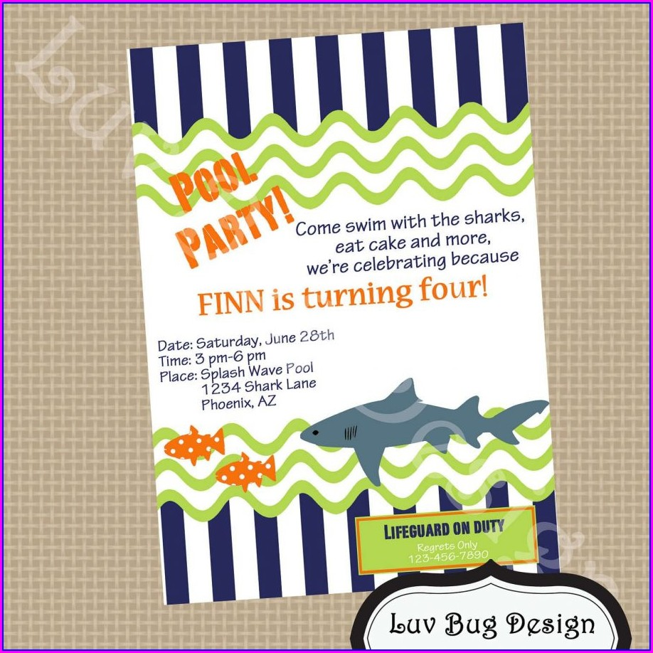 Airsoft Birthday Party Invitation Template