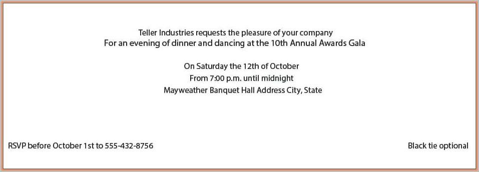 Anniversary Celebration Business Anniversary Invitation Templates Free