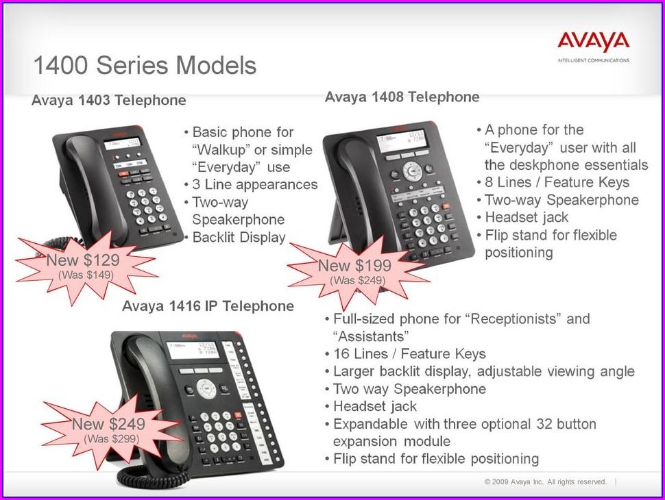 Avaya Phone Label Template