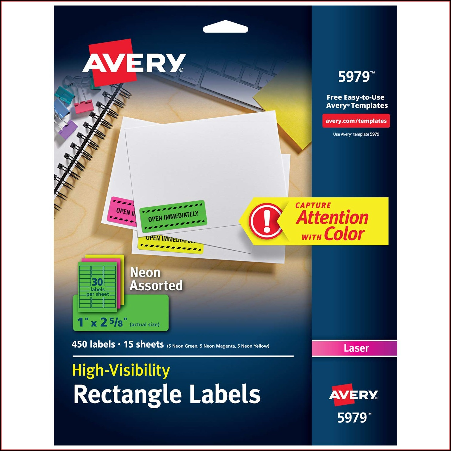 Avery 4x5 Label Template Number