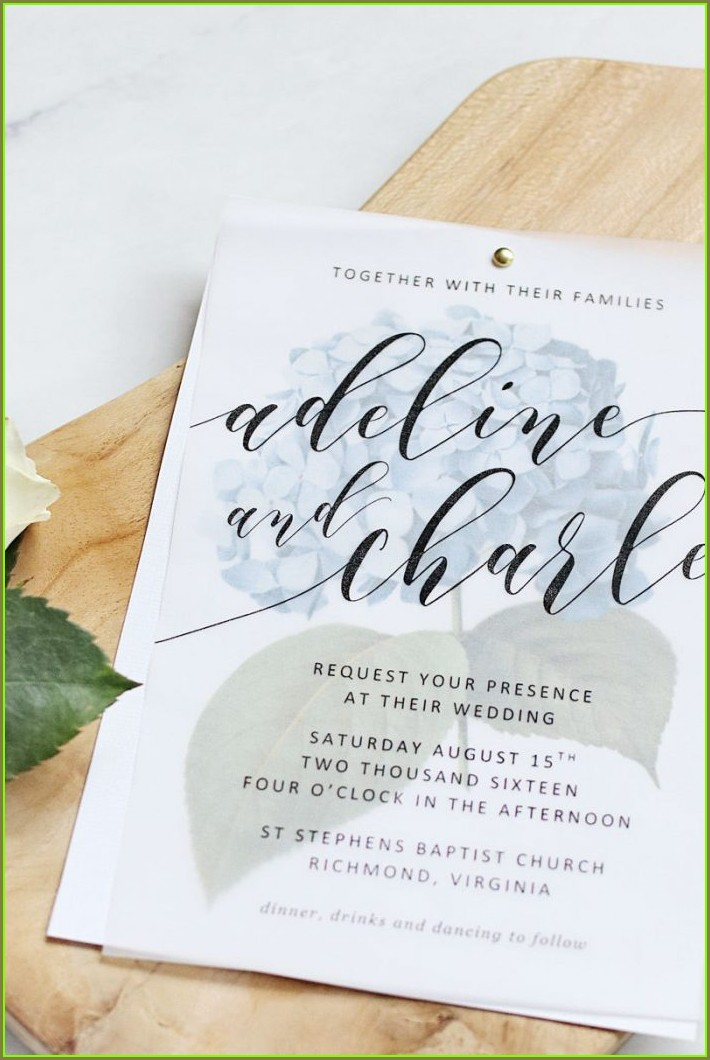 Avery 5x7 Invitation Template