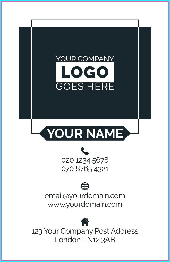 Avery Business Card Template 8373