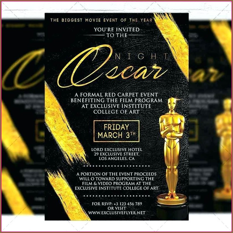 Awards Night Invitation Template
