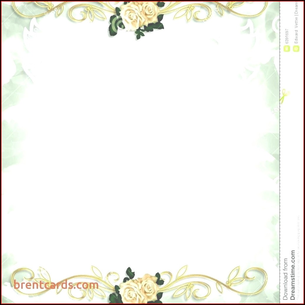 Blank Hindu Wedding Invitation Templates
