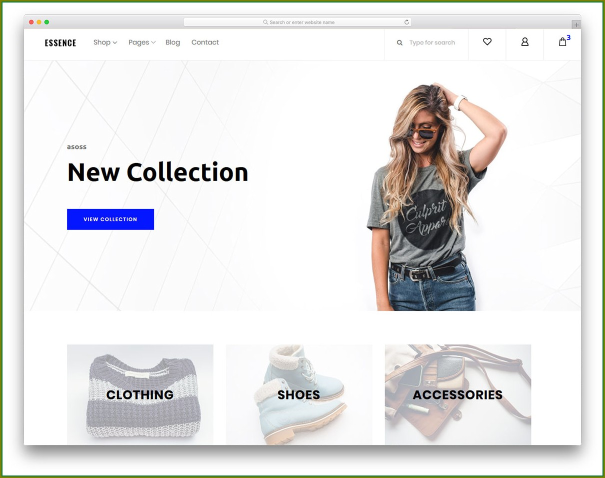 Boutique Website Templates