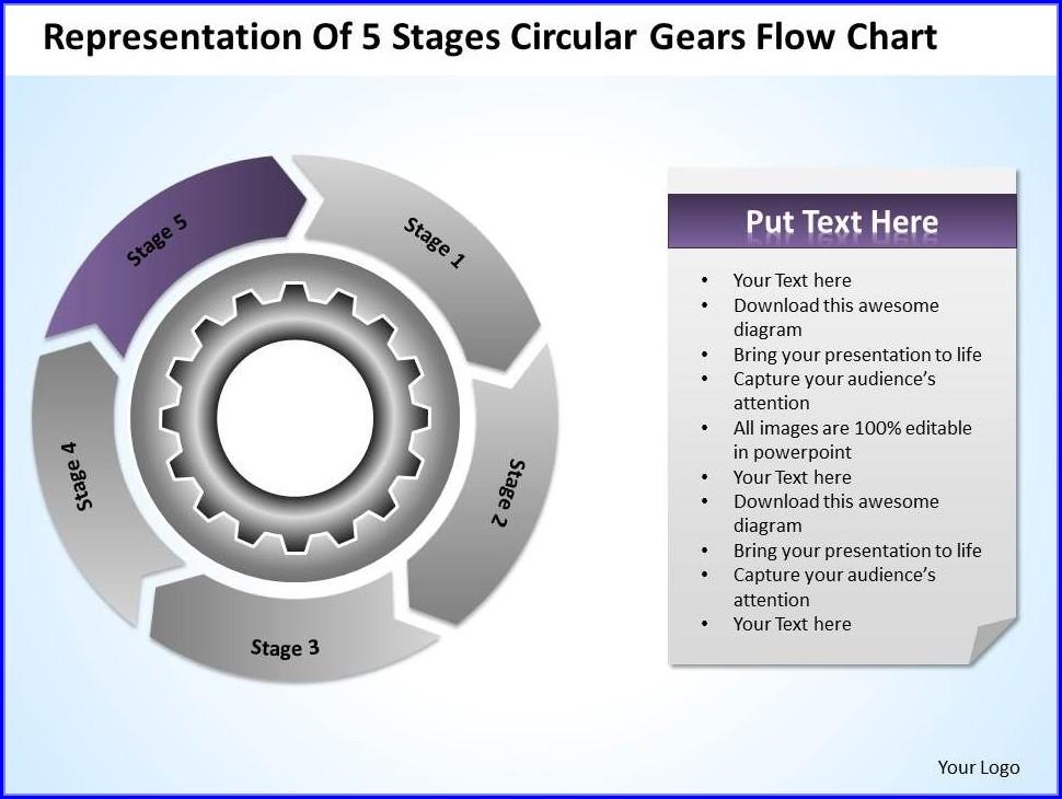 Business Organizational Chart Template Powerpoint