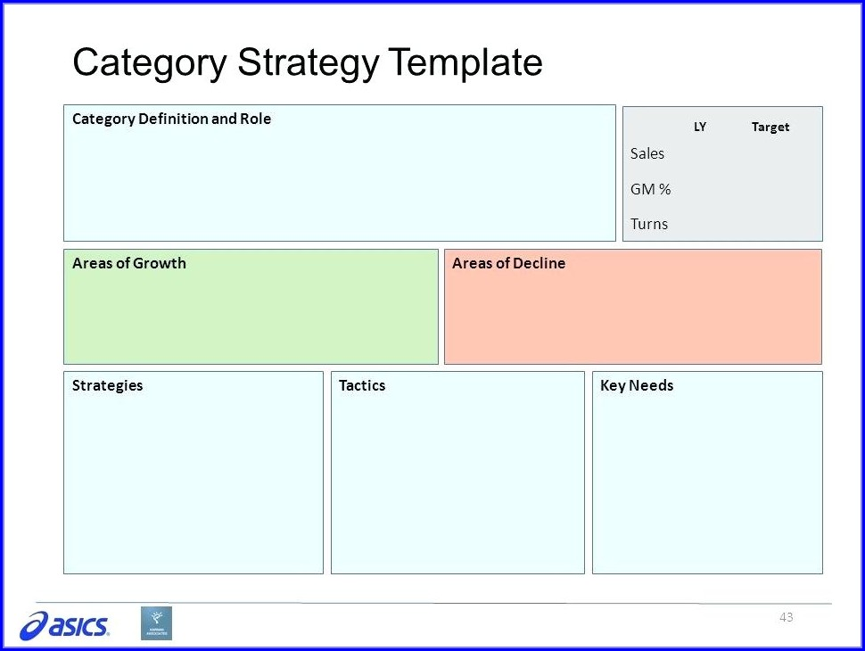 Category Management Strategy Template