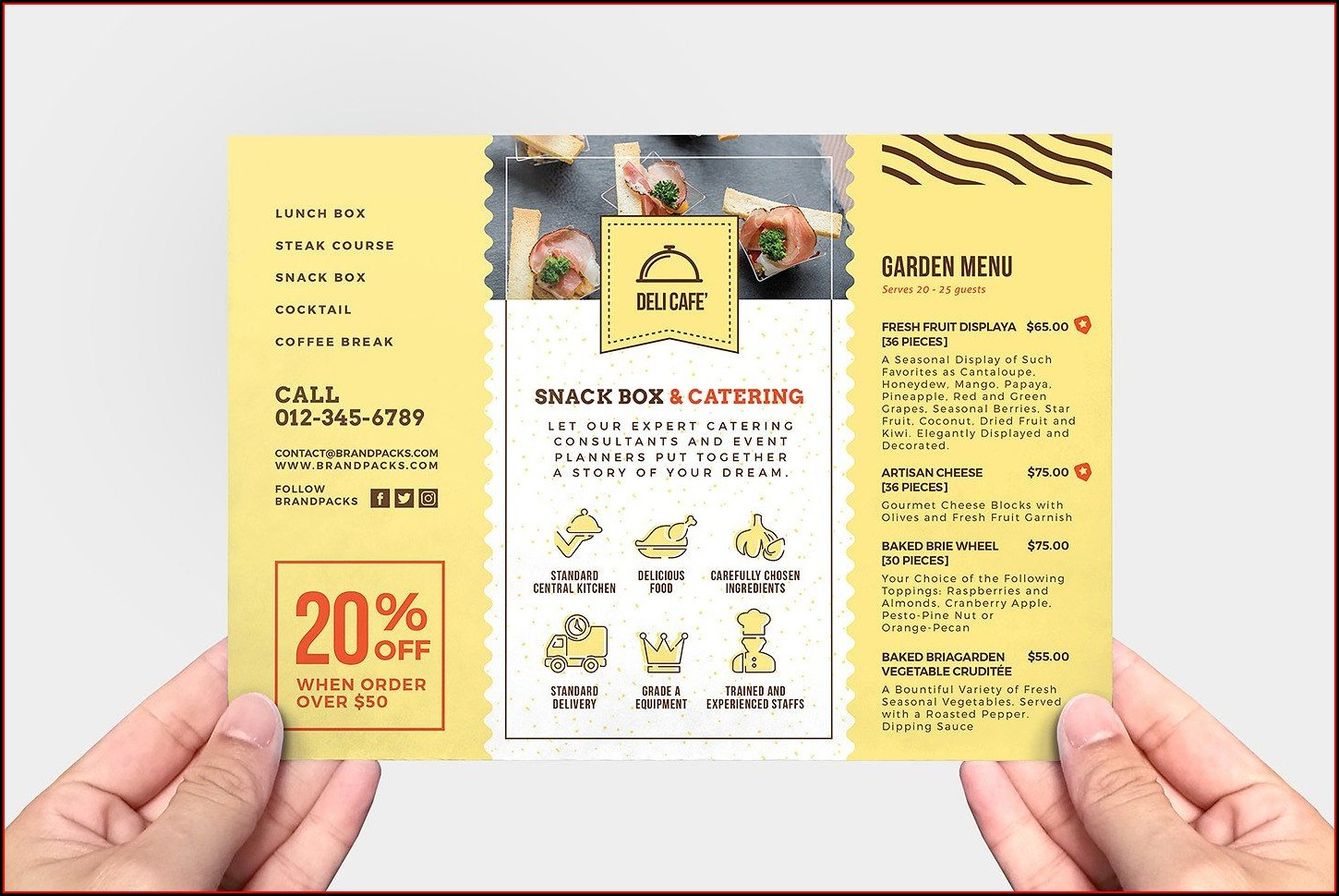 Catering Service Catering Flyer Template