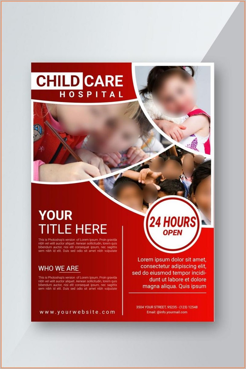 Child Care Flyer Templates Free