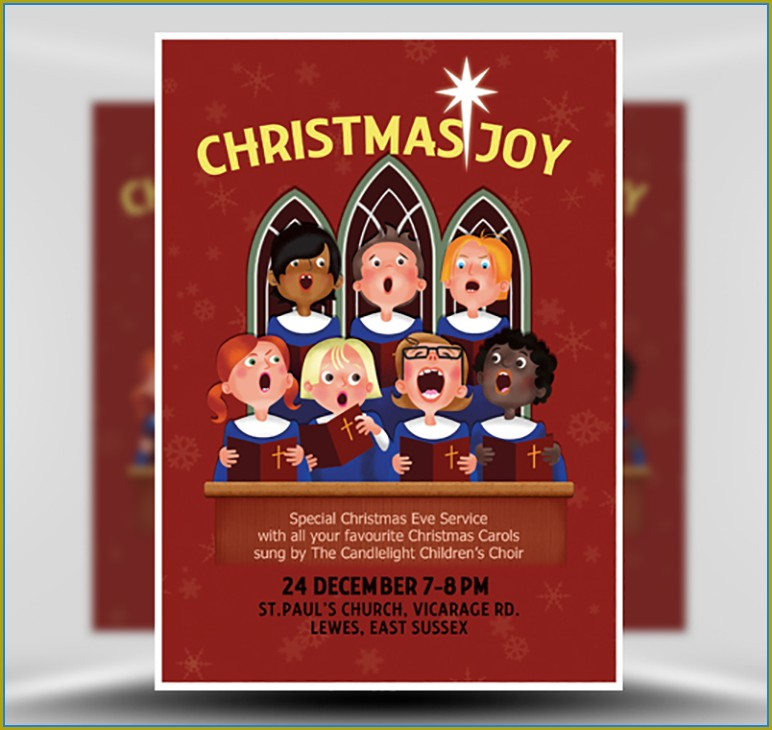 Choir Flyer Template Word