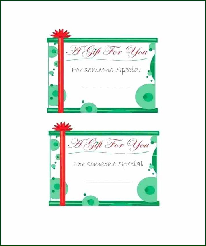 Christmas Gift Bag Tag Template