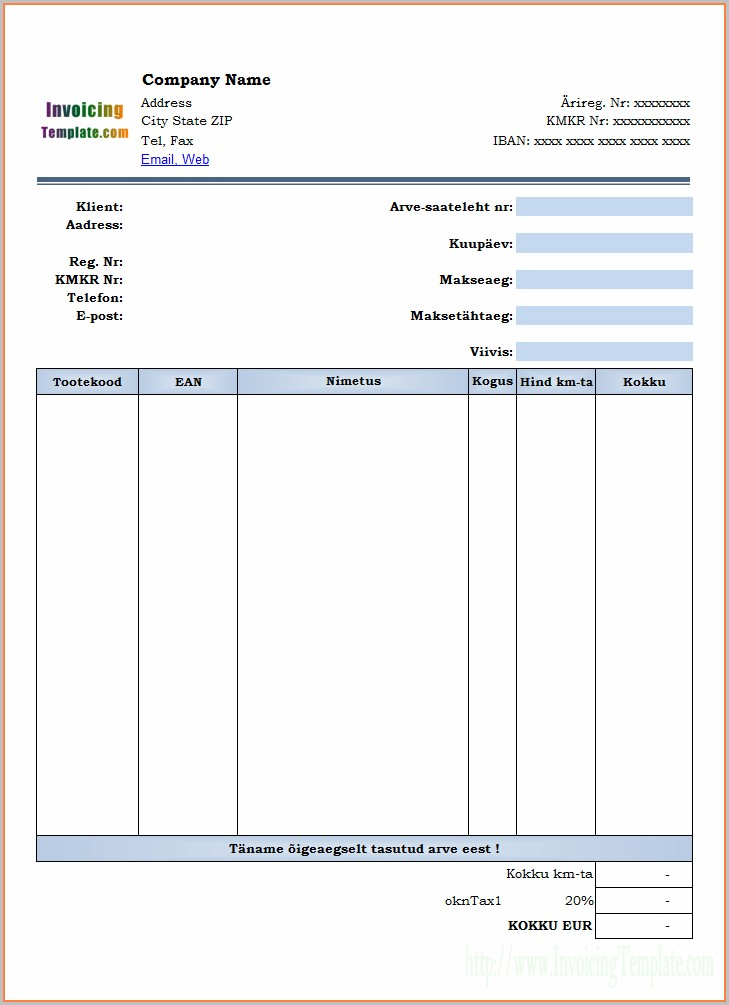 Cleaning Service Quotation Template