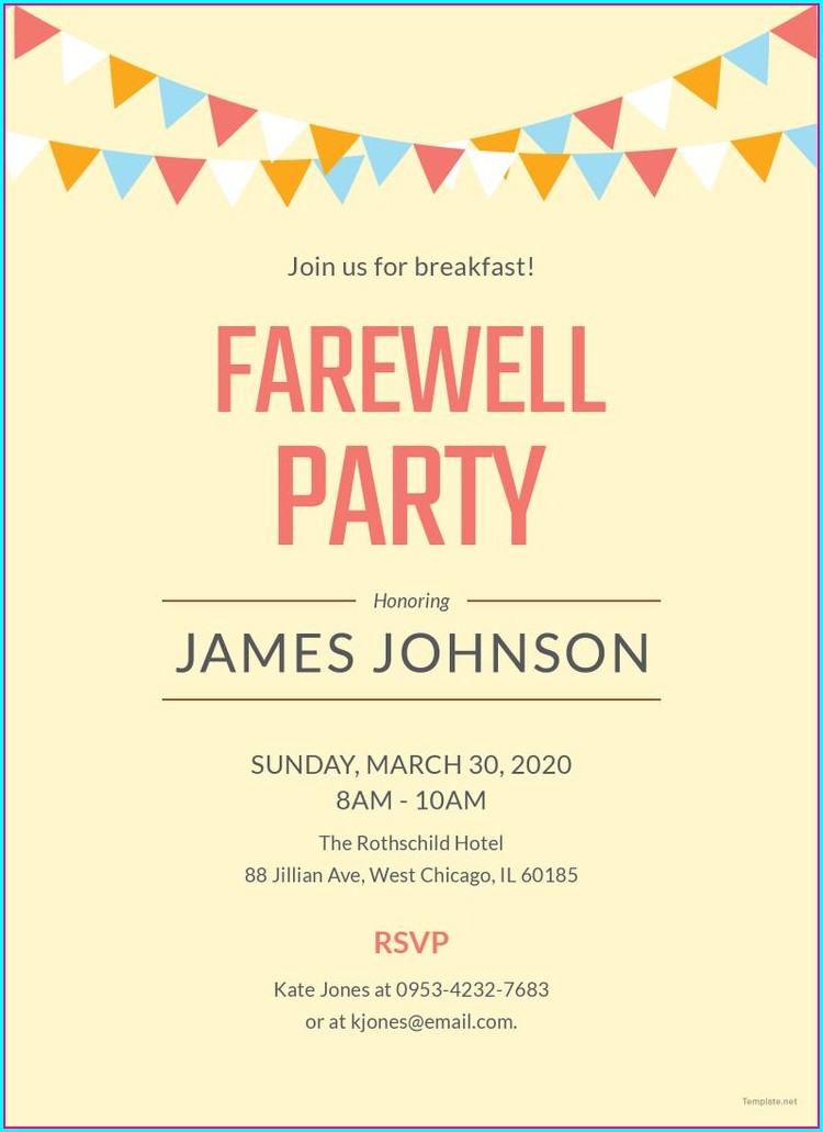 Cocktail Invitation Templates Free