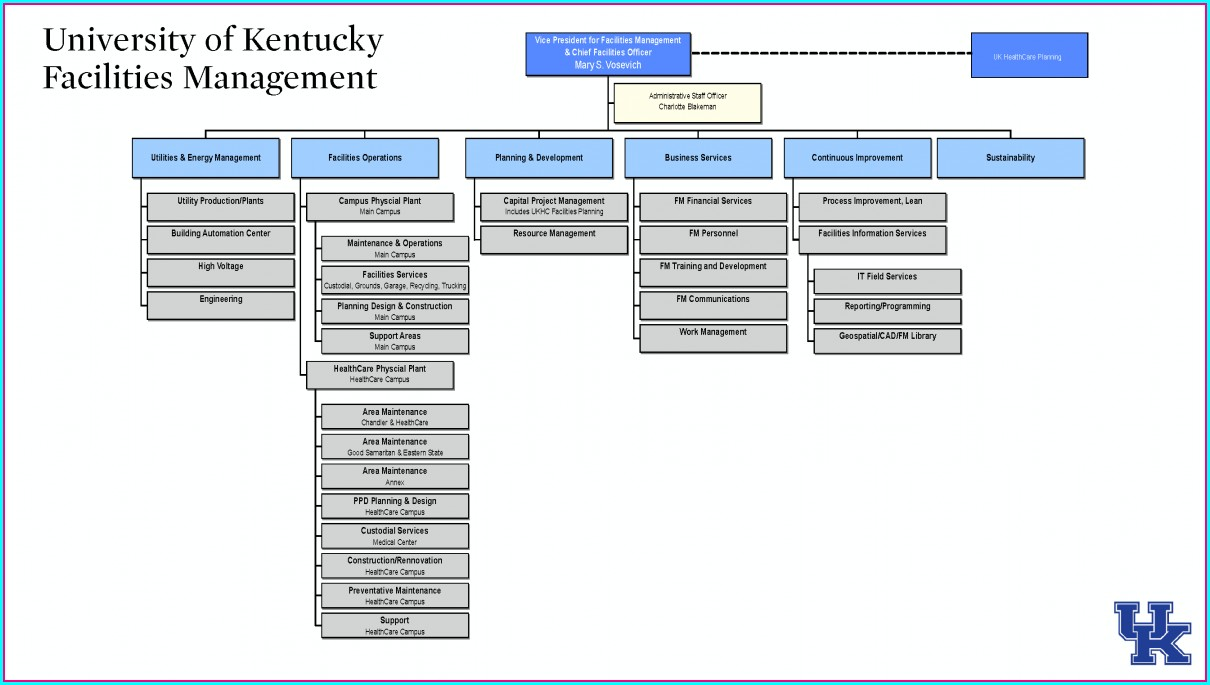 Construction Management Construction Organizational Chart Template