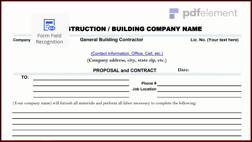 Construction Proposal Template Free Download (19)