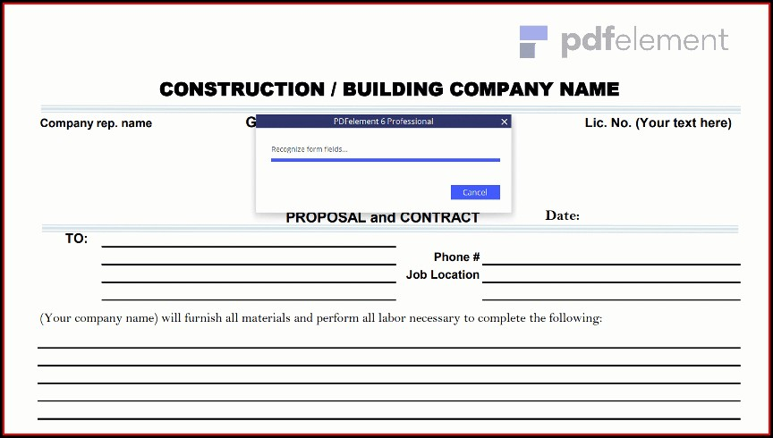 Construction Proposal Template Free Download (48)