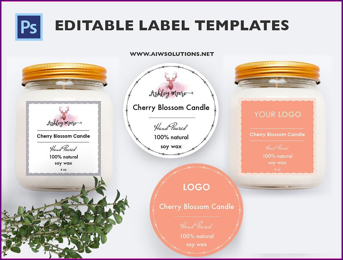 Cosmetic Label Templates Free Online