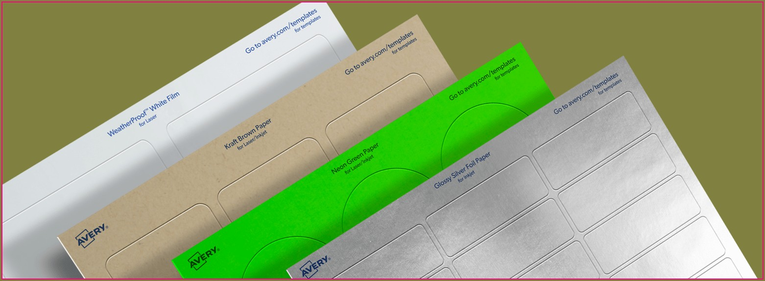 Dennison Labels Templates