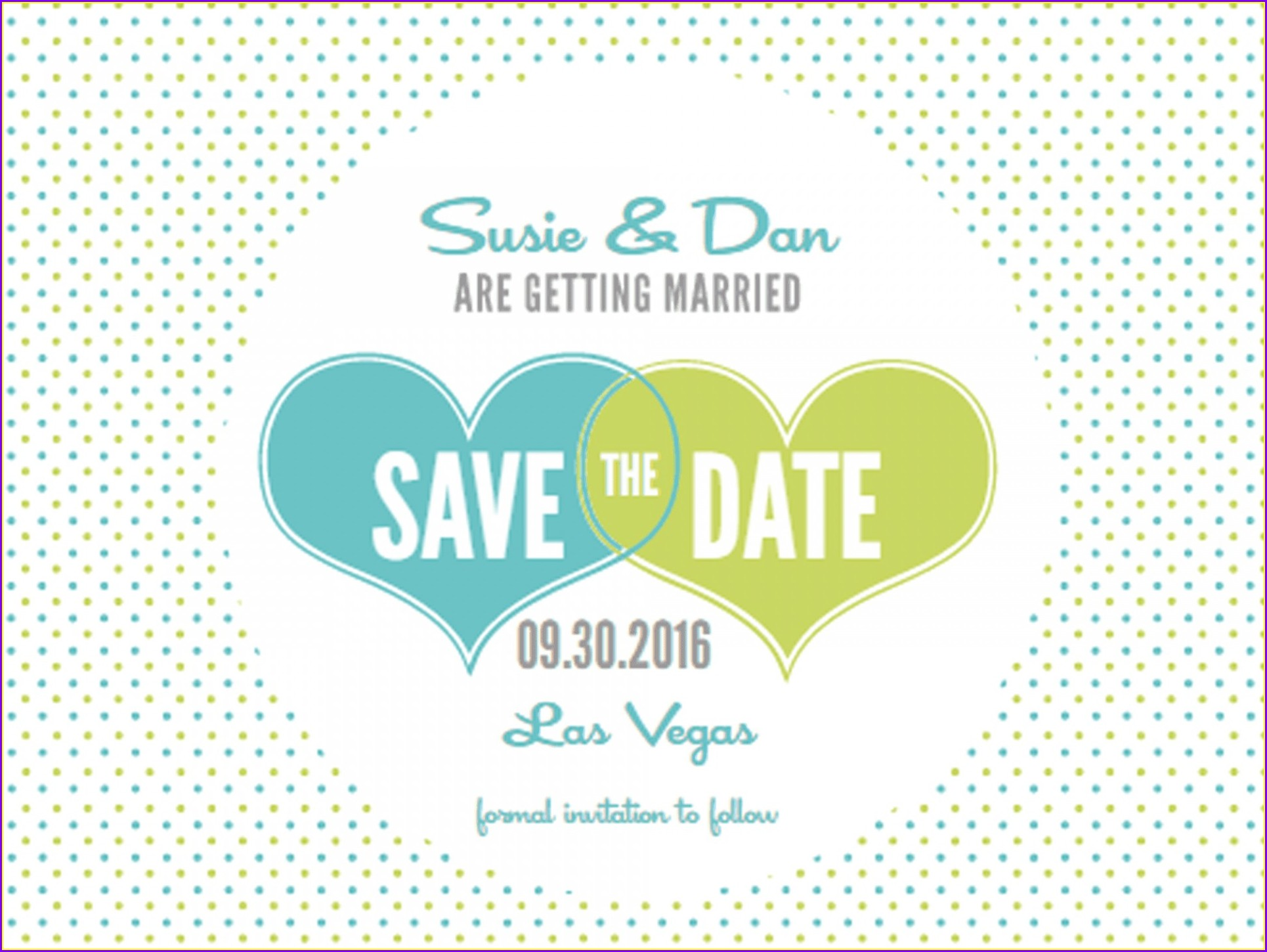Diy Save The Date Postcard Templates