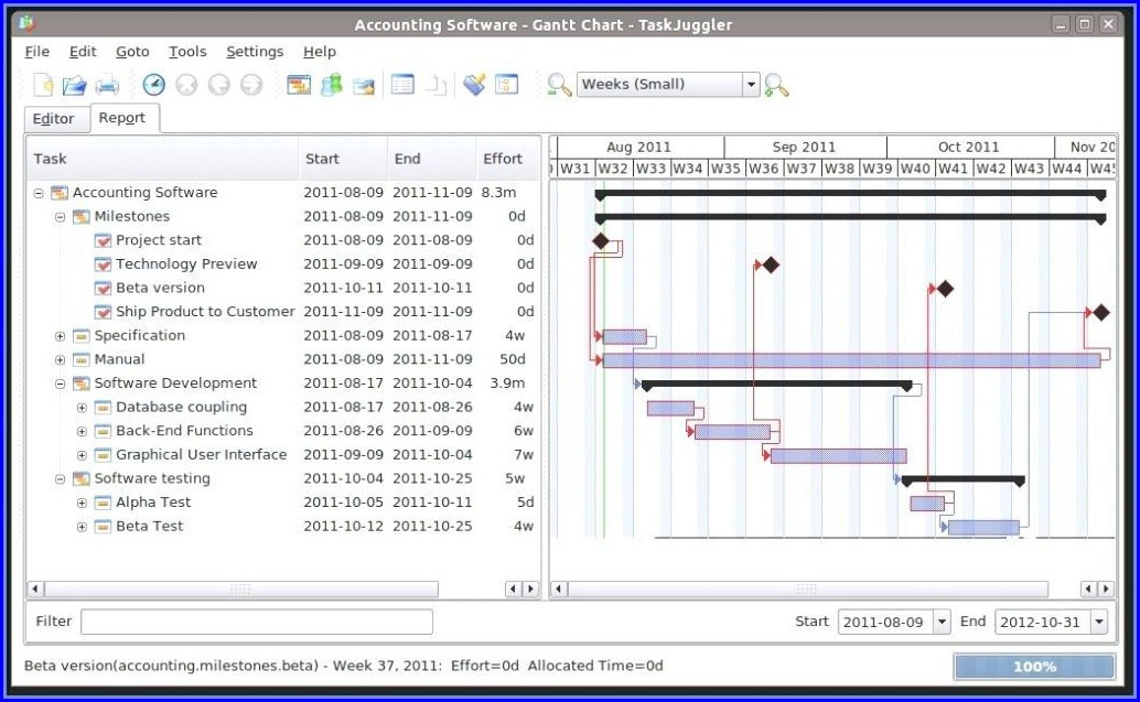Download Gantt Chart Template Excel 2016