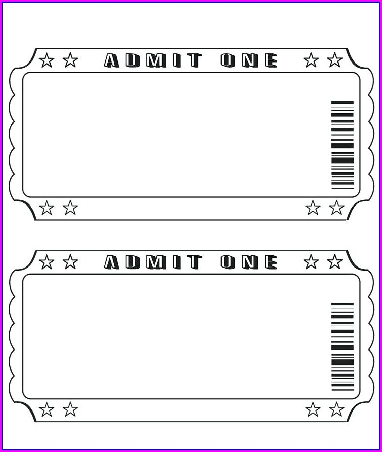 Downloadable Blank Birthday Invitation Templates