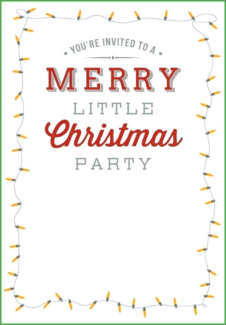 Downloadable Free Printable Christmas Menu Templates