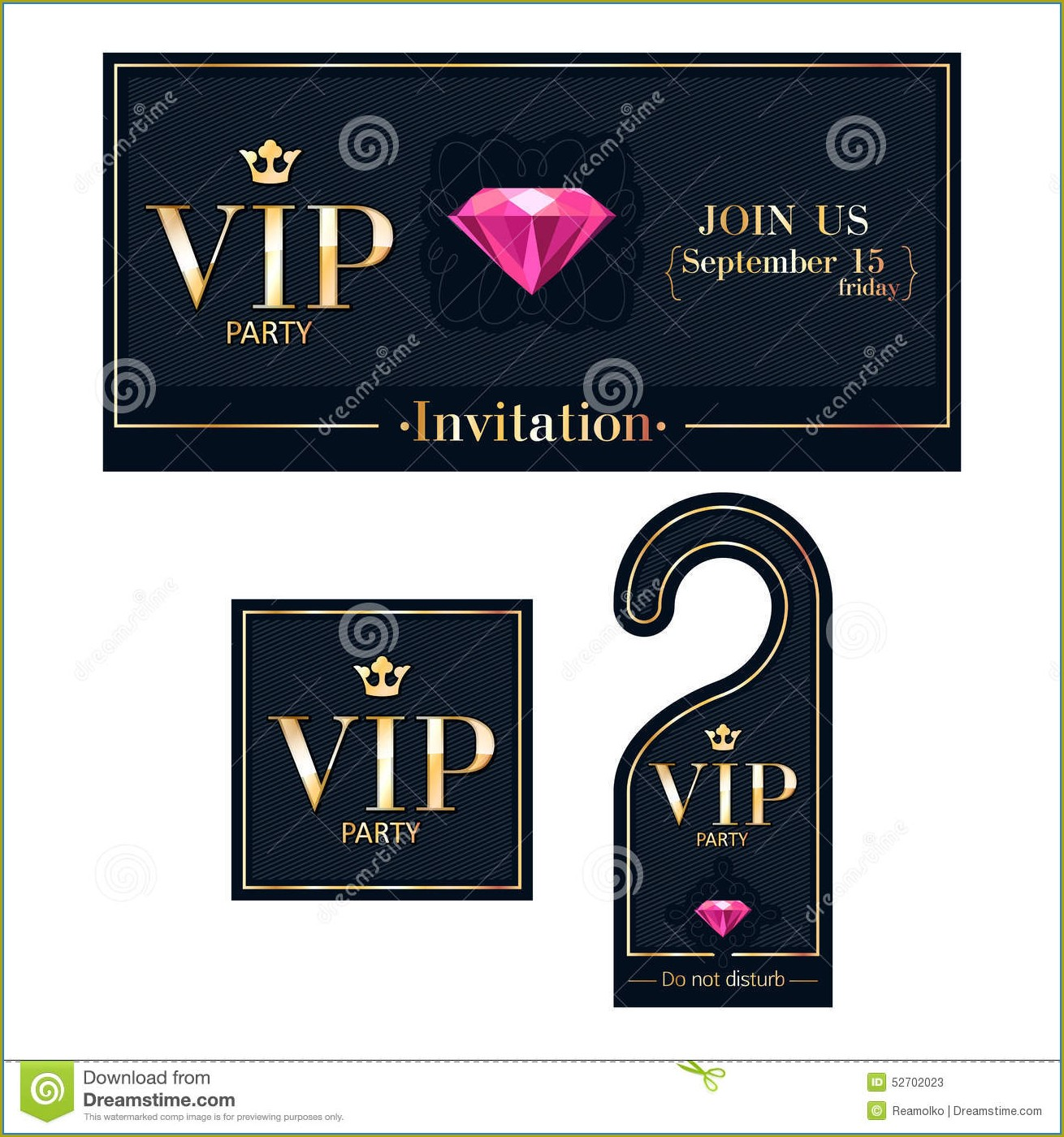 Downloadable Vip Invitation Template Free