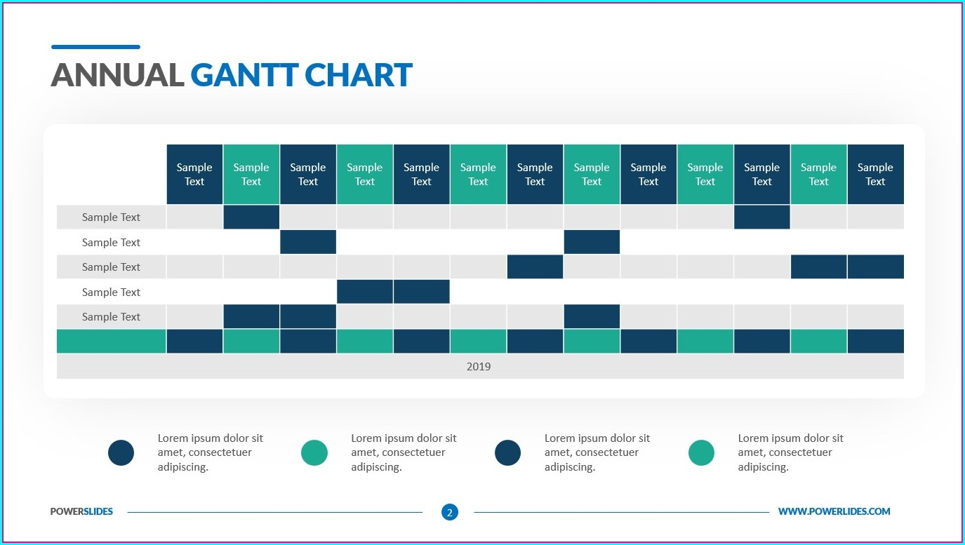Easy Gantt Chart Template