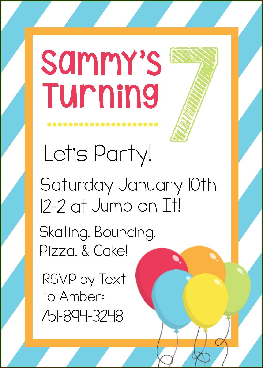 Editable 18th Birthday Invitations Templates Free