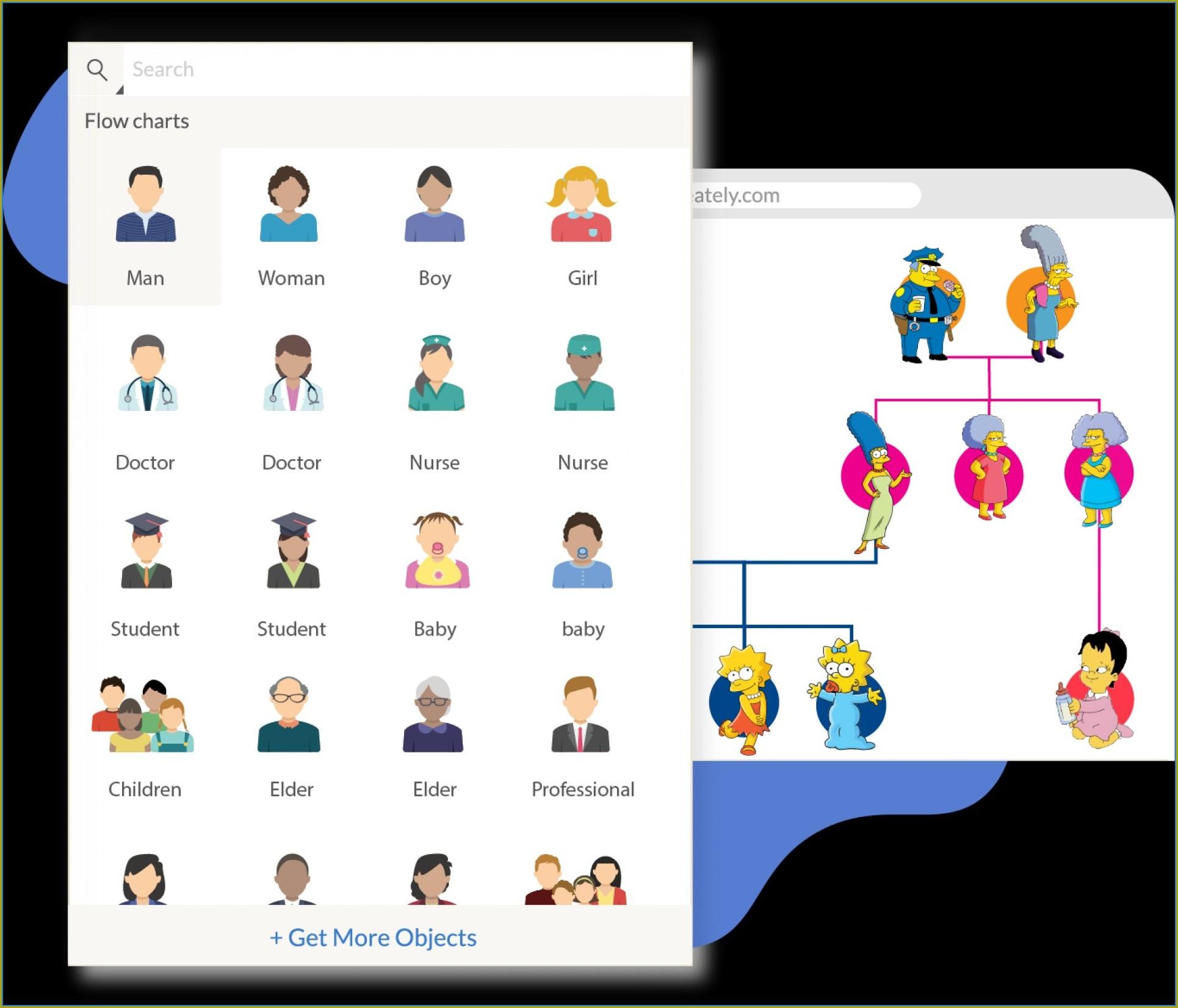 Editable Genealogy Chart Template
