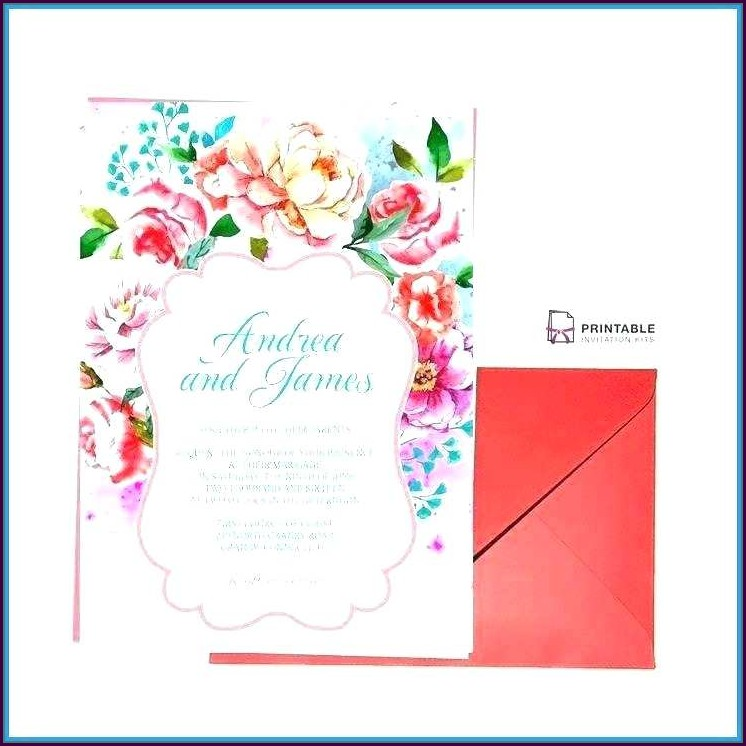Editable Hindu Wedding Card Templates