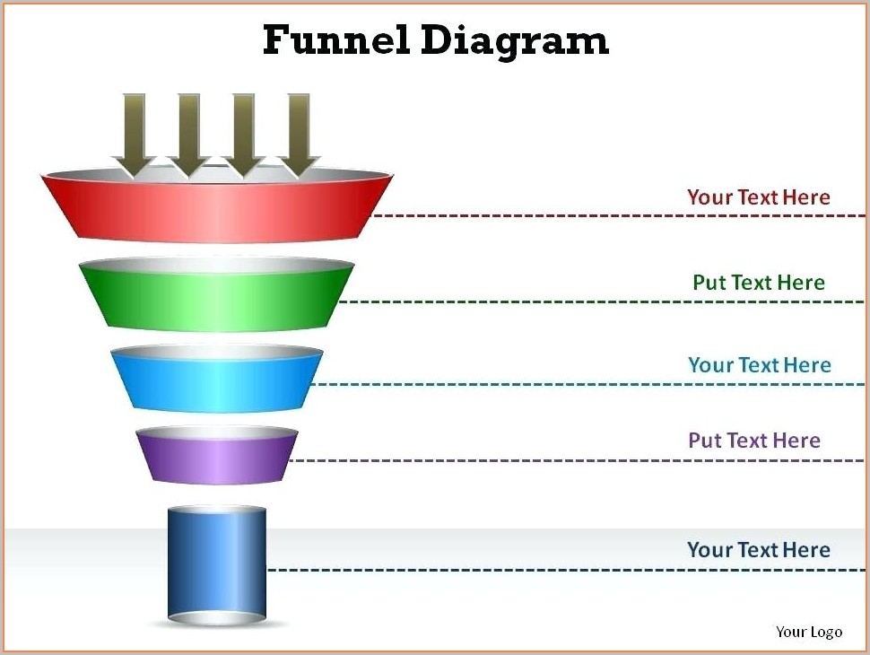 Editable Powerpoint Sales Funnel Template