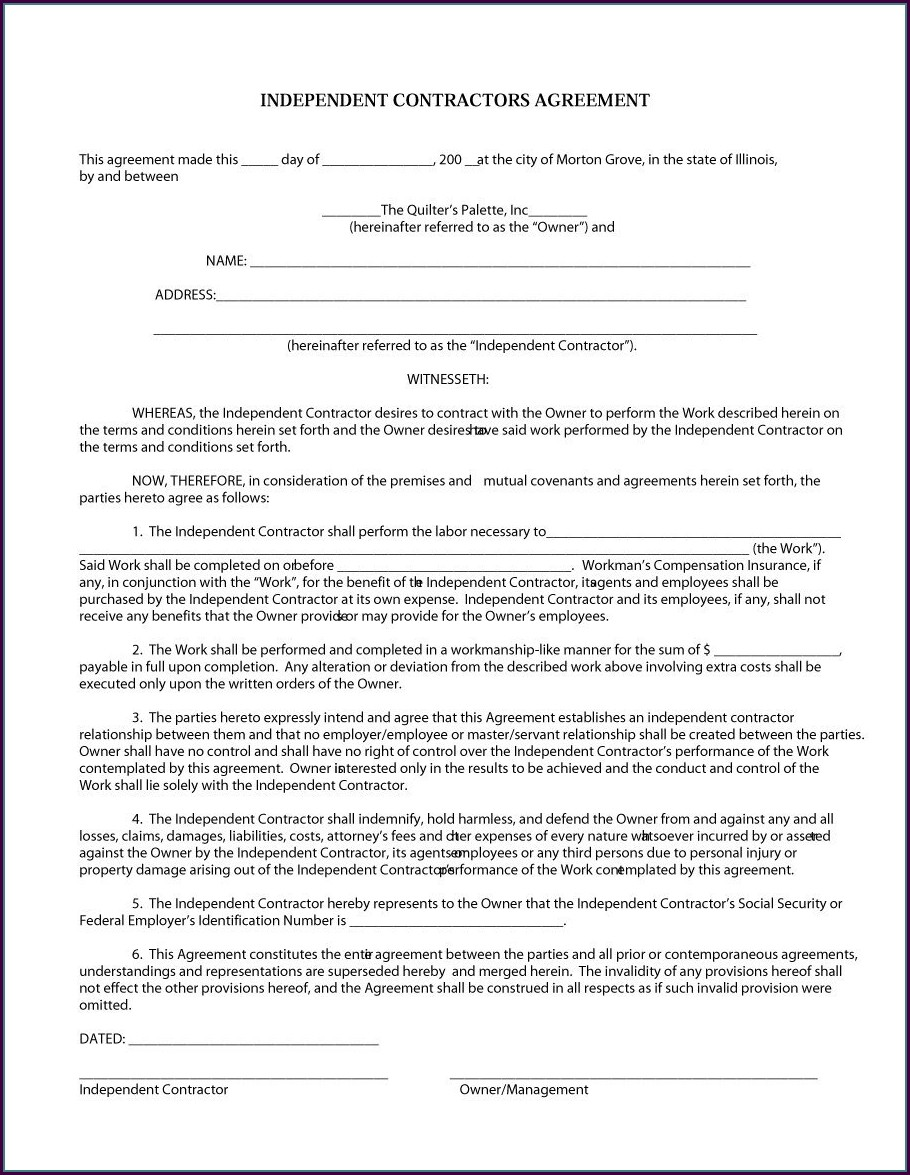 Employment Contract Template Ontario Canada