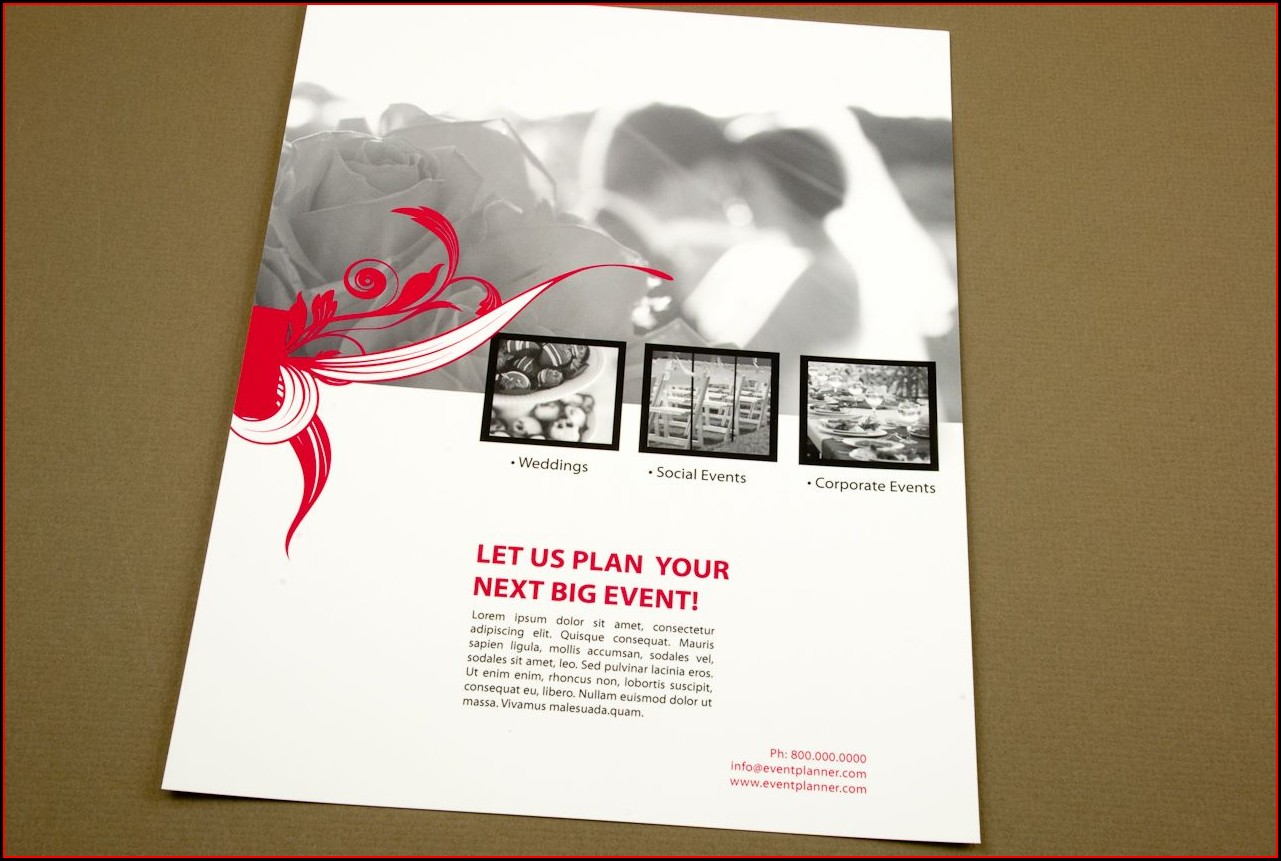 Event Planner Flyer Templates