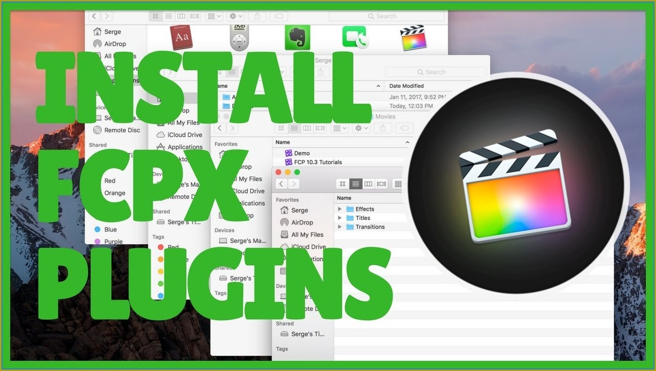 Fcpx Motion Templates Folder Location