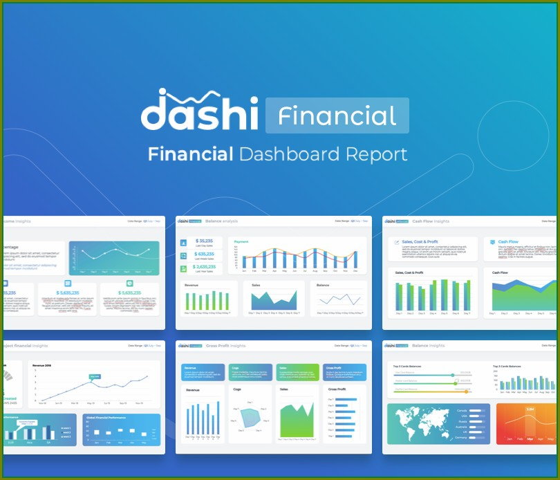 Financial Reporting Dashboard Template