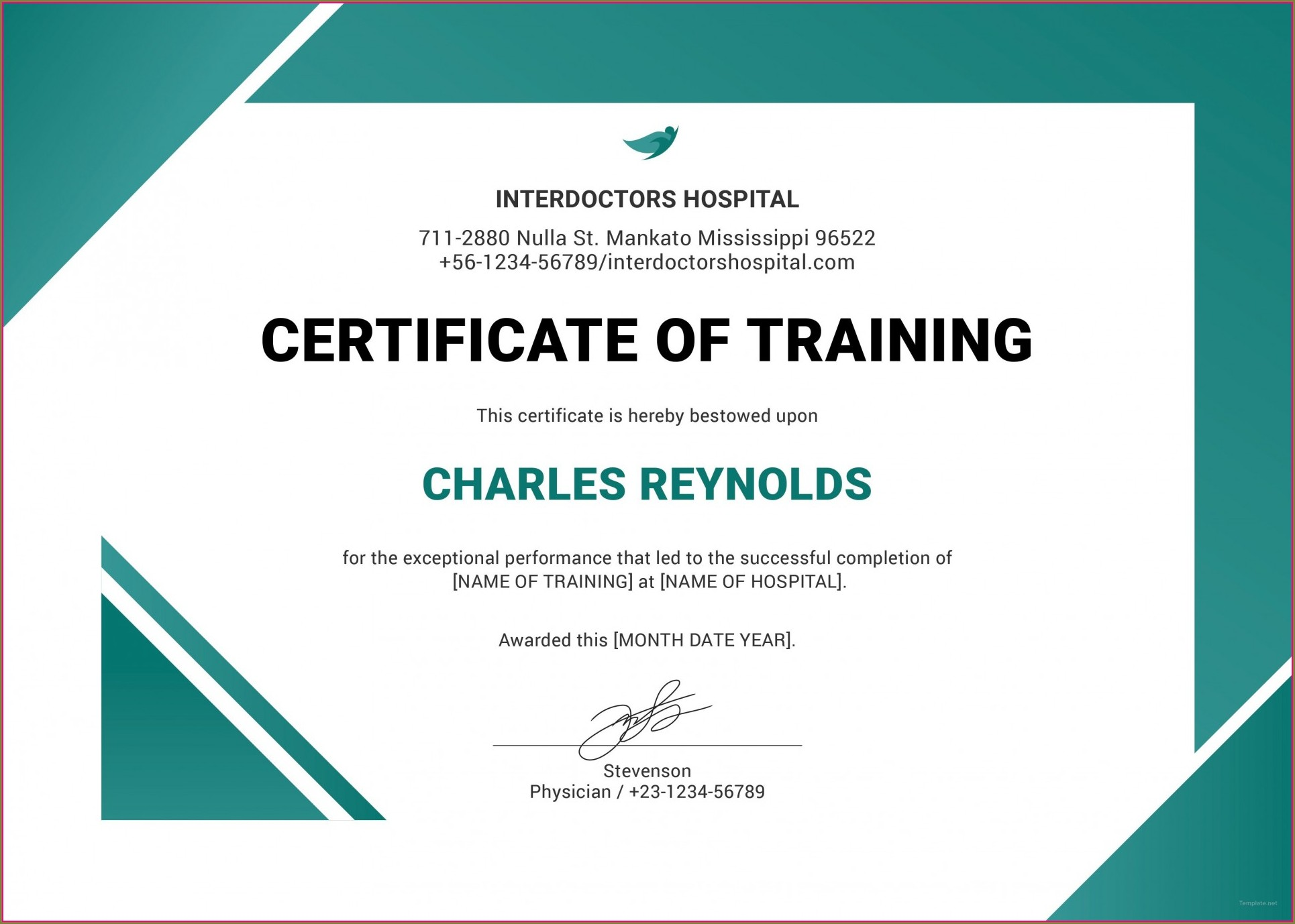 Forklift Truck Training Certificate Template Free