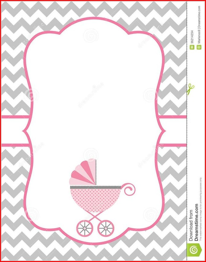 Free Baby Shower Invitation Templates To Print