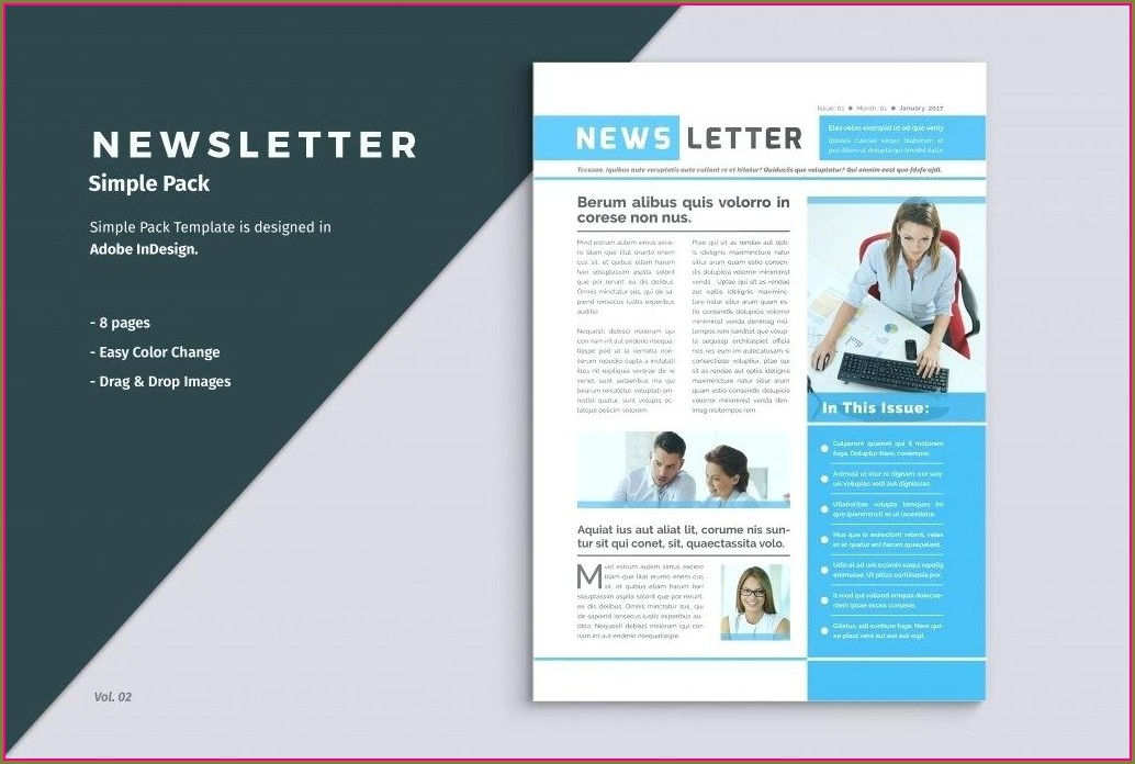 Free Christian Newsletter Templates