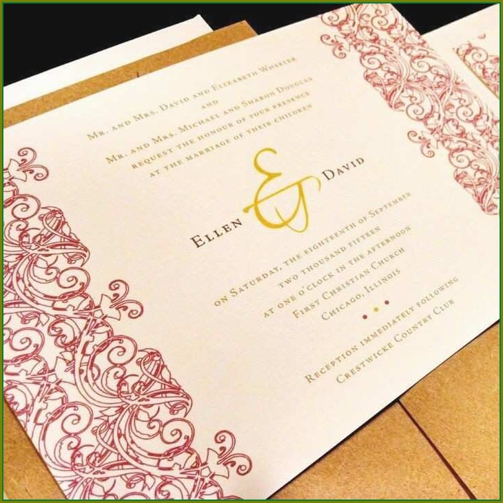 Free Islamic Wedding Invitation Templates